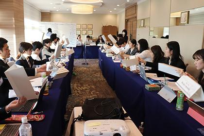 事例3:全国の学生が集う国際会議の開催に成功した事例
