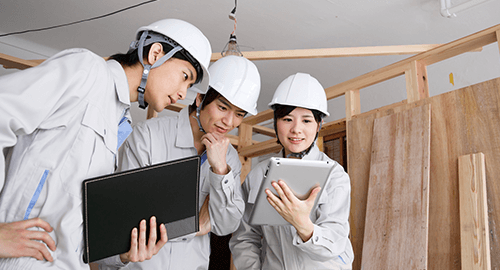 工事現場などの施工状況をリアルタイムで映像配信