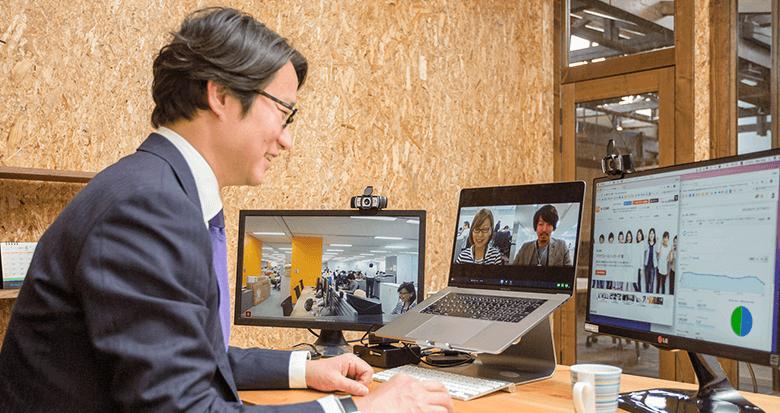 「まるでそこに東京があるみたい」 テレビ会議/Web会議の進化でテレワークはココまできた!