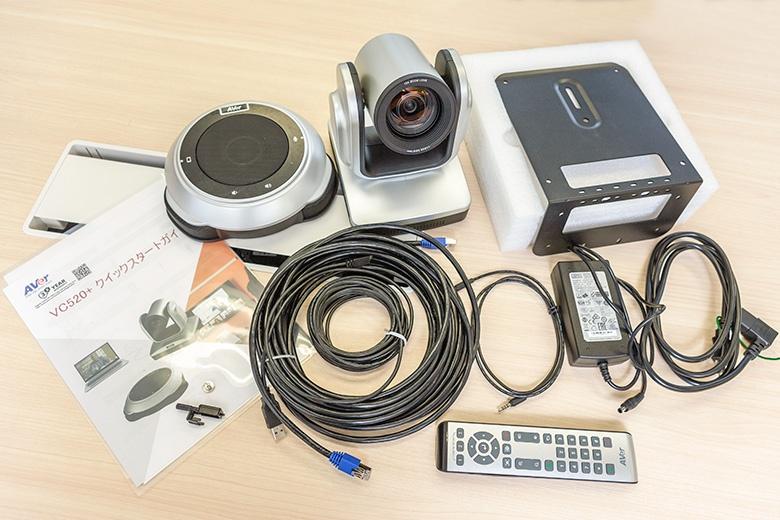 VC520+カメラ、スピーカーマイクなど一式