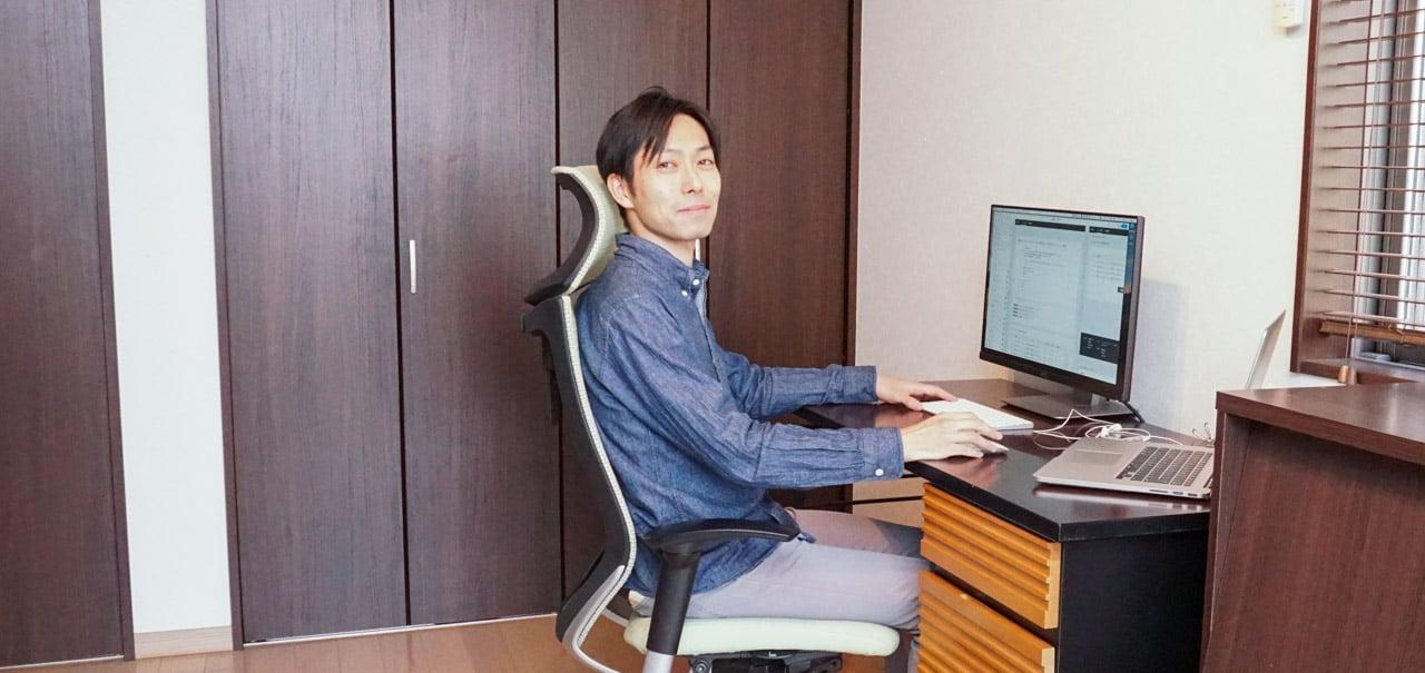 株式会社ブイキューブ 岩田 剛のテレワーク環境