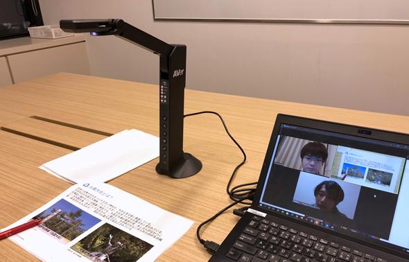編集会議にM11-8MVを使ってみた