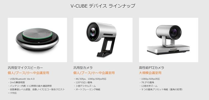 V-CUBE デバイス