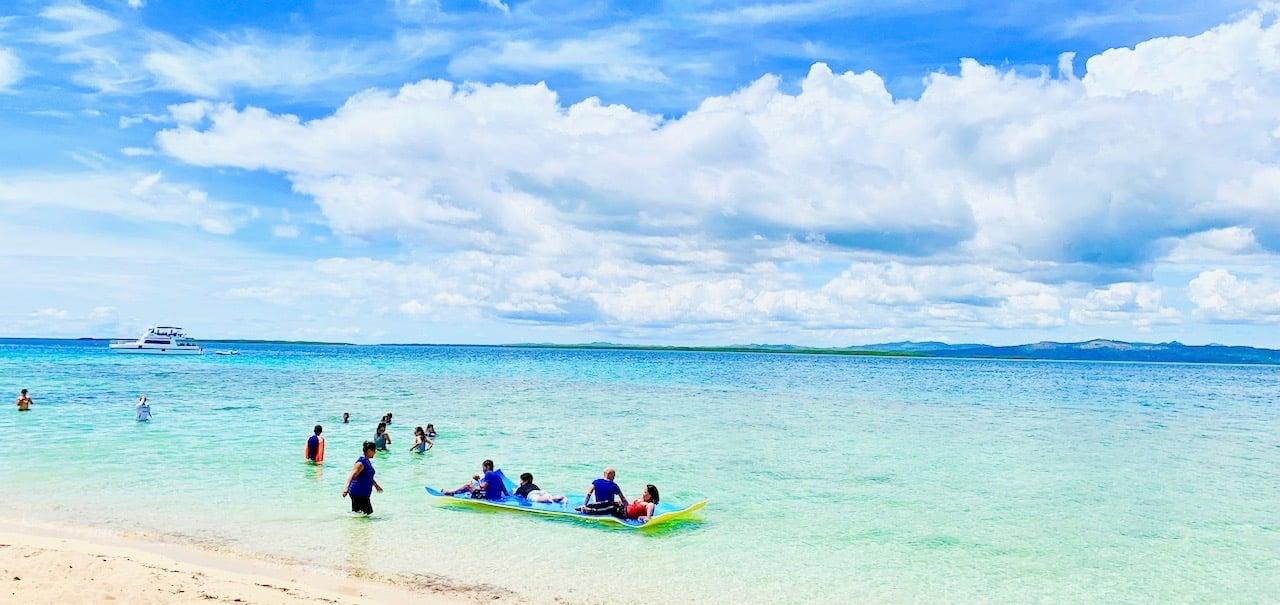 フィリピン・セブ島のビーチ(実は人口ビーチです)