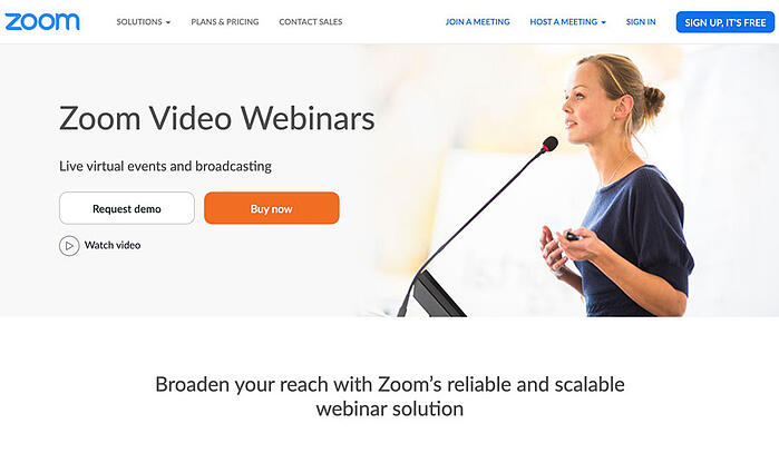 Zoom Video Webinars